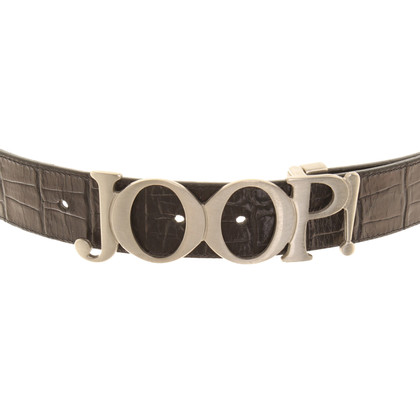 JOOP! Gürtel mit Logo-Schließe