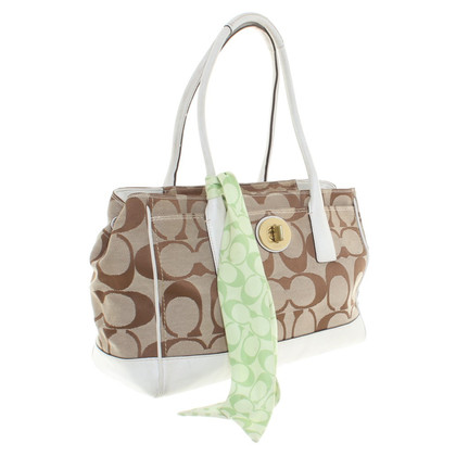 Coach Purse with patterns