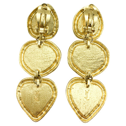 Yves Saint Laurent ear clips