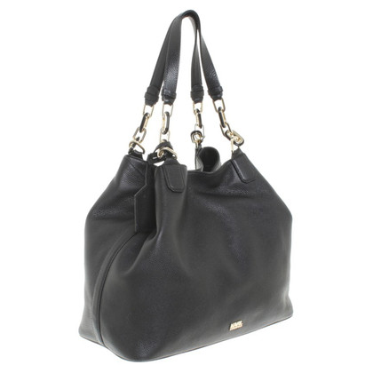 Karl Lagerfeld Shopper in pelle nera