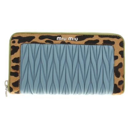 Miu Miu Multicolored leather wallet