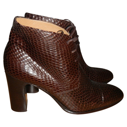 Casadei Boots Python Leather