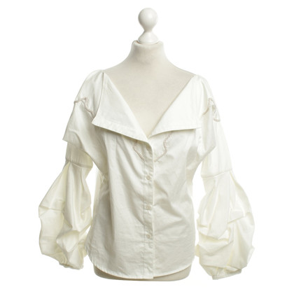 Johanna Ortiz Blouse in white
