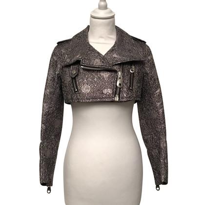 Pinko Bolero jacket in biker style