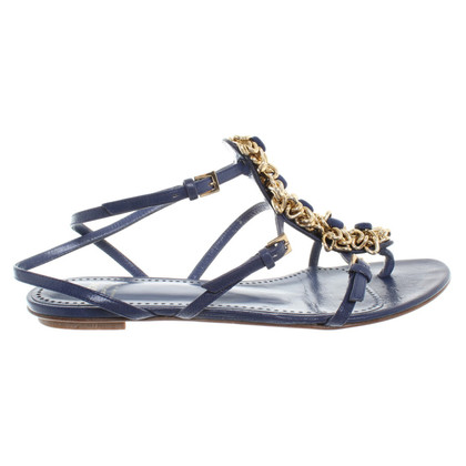 Moschino Cheap and Chic Sandals with Flower Details