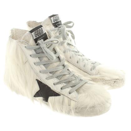 Golden Goose Sneakers aus Ziegenfell