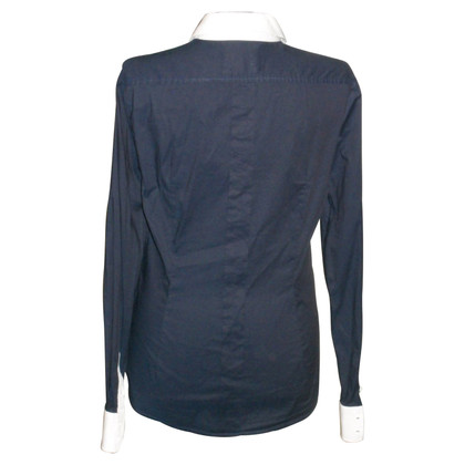 D&G Bluse in Dunkelblau