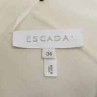 Escada Cappotto in lana in crema