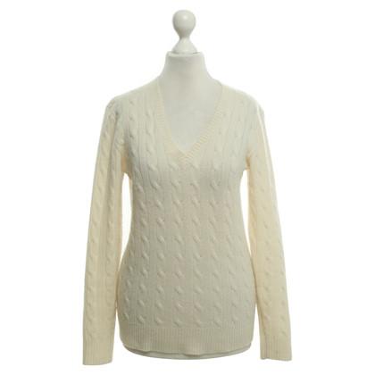 Polo Ralph Lauren maglioni di cashmere in beige sordina