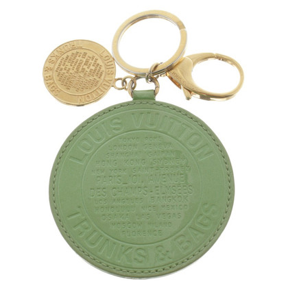 Louis Vuitton Key pendant in green
