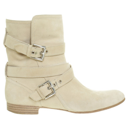 Gianvito Rossi Suede boots in beige