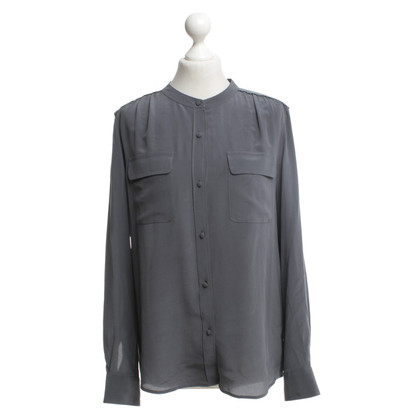 Closed Silk blouse in grey