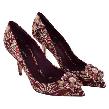 """Dolce & Gabbana Jacquard Pumps """"Bellucci"""""""