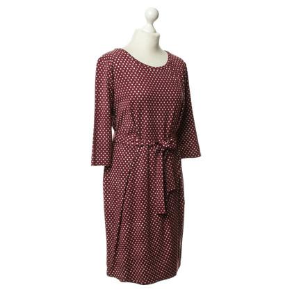 Max Mara Punten patroon jurk