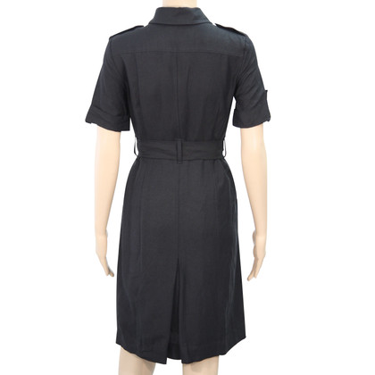 Calvin Klein Linen dress in black