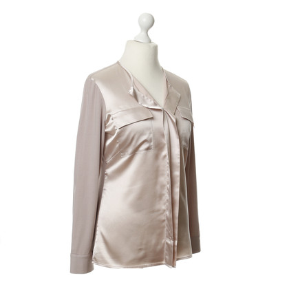 Andere Marke White T - Roséfarbene Bluse