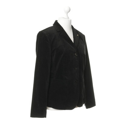 Blonde No8 Fluweel Blazer in zwart