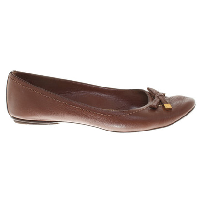 Louis Vuitton Ballerinas in brown