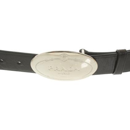 Prada Belt with logo clasp