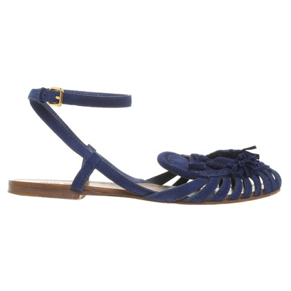 Miu Miu Sandals in Blue