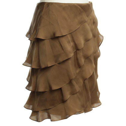 Ralph Lauren Silk skirt in ochre