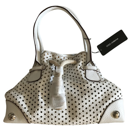 Dolce & Gabbana Handbag made of perforated leather