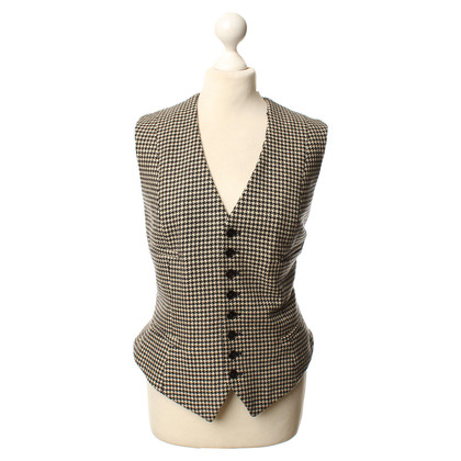 Ralph Lauren Jacket with Houndstooth-pattern in black and white