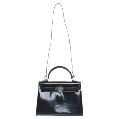 Pollini Handbag in dark blue
