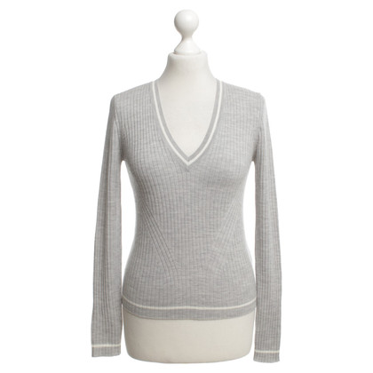 Allude Knit sweater in grey