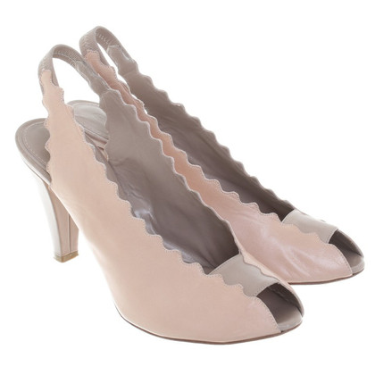 Chloé Peeptoes in Beige