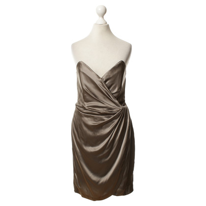 Reiss Silk dress in grey