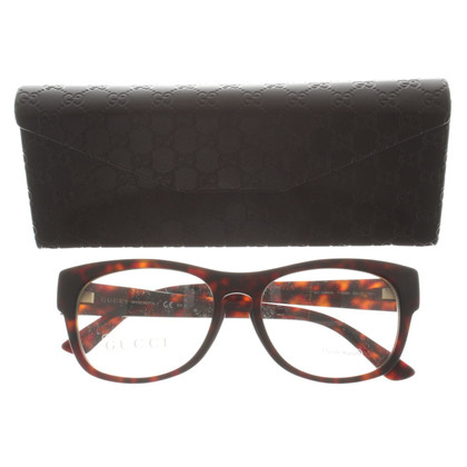 Gucci Glasses frame with Havana pattern