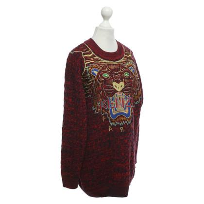 Kenzo Sweater met opvallend borduurwerk