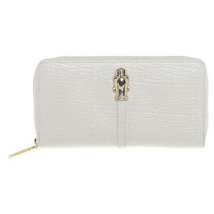 Roberto Cavalli Wallet in cream white