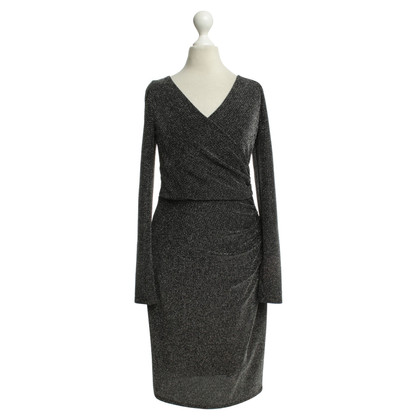 Ralph Lauren Glitter dress in black-silver