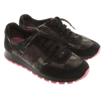 Prada Sneakers with camouflage pattern