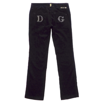 D&G Corduroys in Black