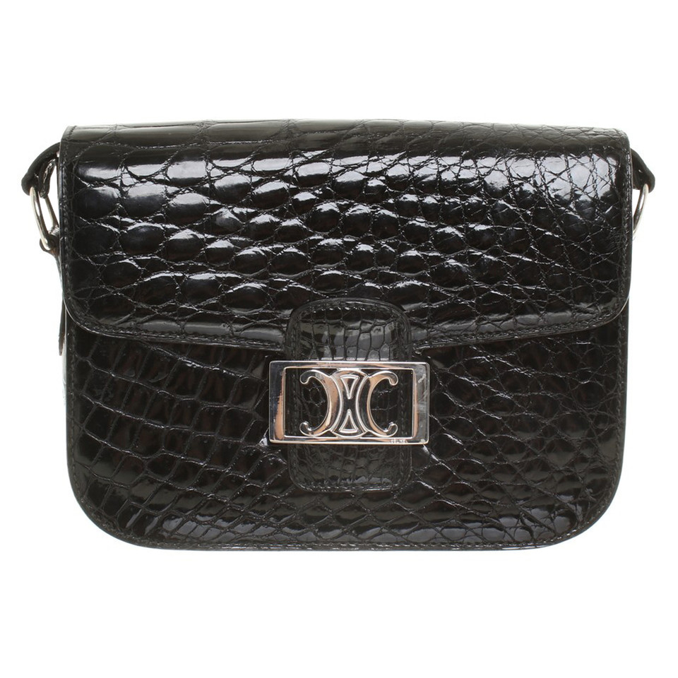 Céline Reptile leather handbag