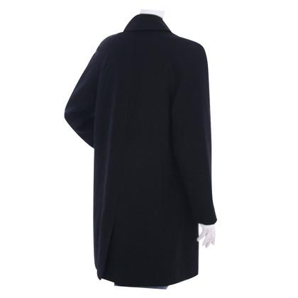 Ralph Lauren Purple Label lana sottile del cappotto del rivestimento