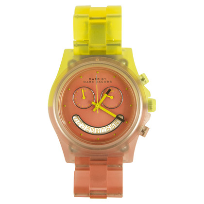 Marc by Marc Jacobs Uhr in Rosa/Gelb