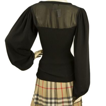 Sonia Rykiel Black wool top