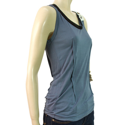 Lanvin Bloemen Tank Top mouwloze blouse