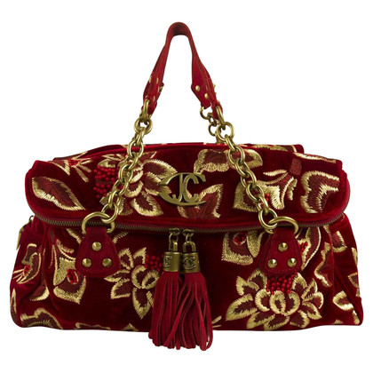 Just Cavalli sac en velours rouge
