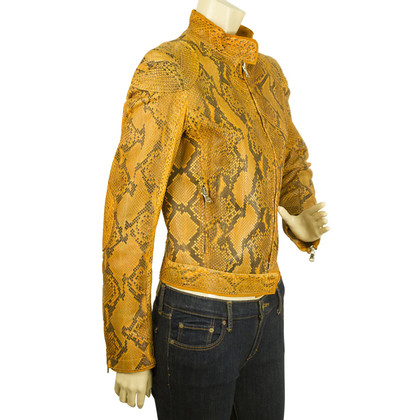 Thes & Thes Jacket Python Leather
