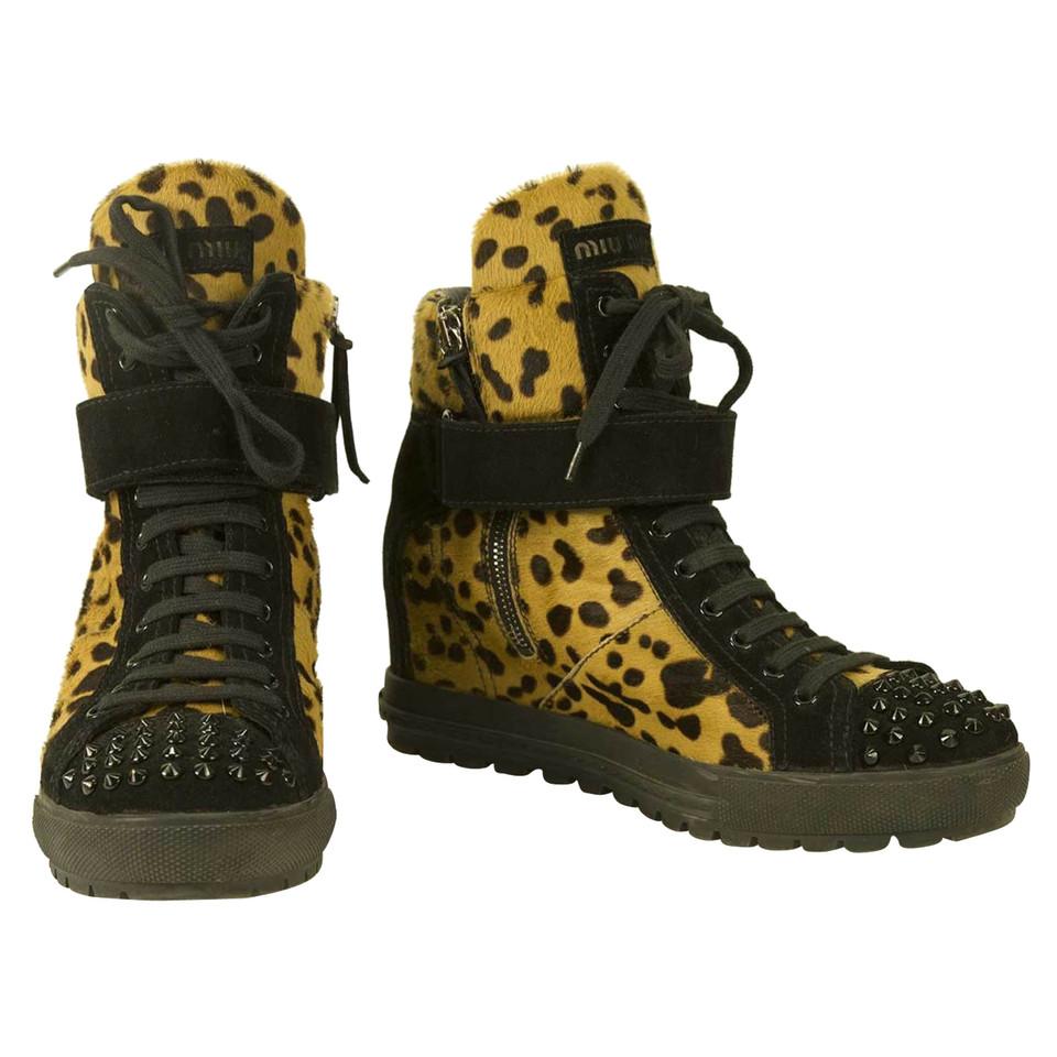 Miu Miu Sneaker wedges
