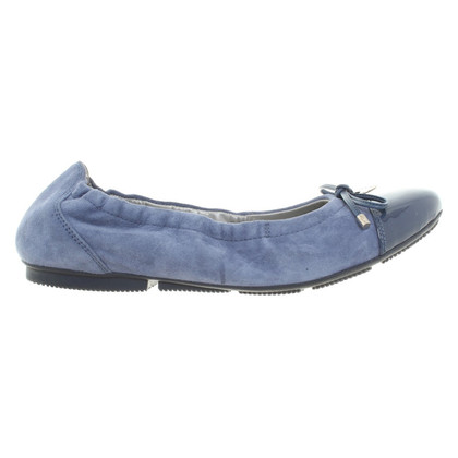 Hogan Ballerinas in Blau