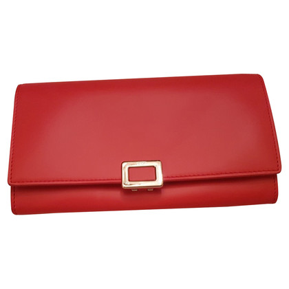 Roger Vivier clutch bag with gold chain