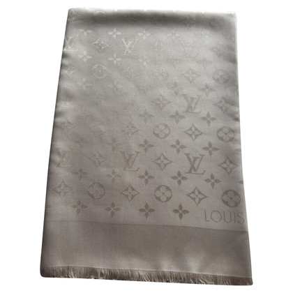 Louis Vuitton Monogram doek in zilvergrijs