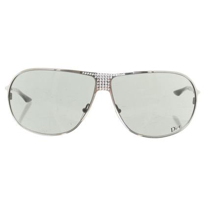 Christian Dior Sonnenbrille mit Strass
