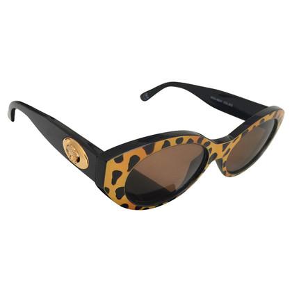 Versace Zonnebril in de Tiger-look